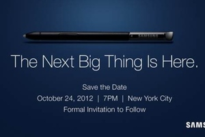 Samsung Galaxy Note Oct. 24th Save the Date