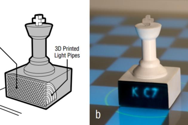 3D printed optics (Disney Research)