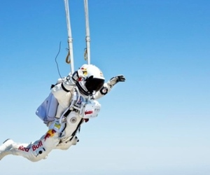 Red Bull supersonic free fall