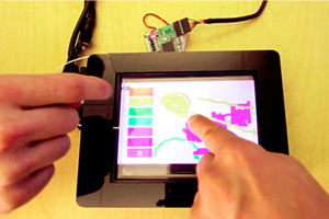 capacitive fingerprints disney research