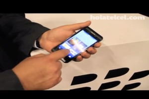 BlackBerry London video leak