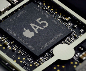 Apple A5 stock press