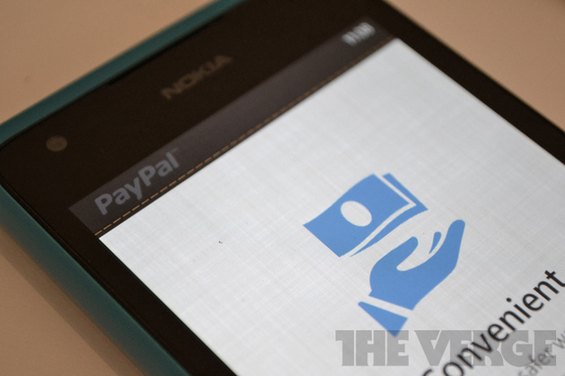 PayPal Windows Phone
