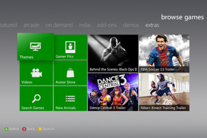 xbox live dashboard