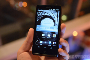 Gallery Photo: Sony Xperia TL for AT&amp;T (hands-on pictures)