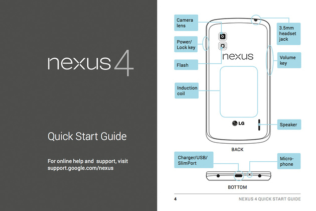 LG Nexus 4 manual comp