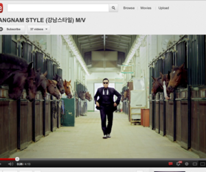 Gagnam Style YouTube