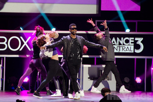Usher at E3 / Microsoft Xbox 360