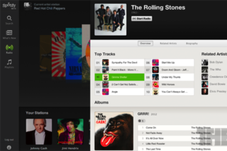 spotify web player browser