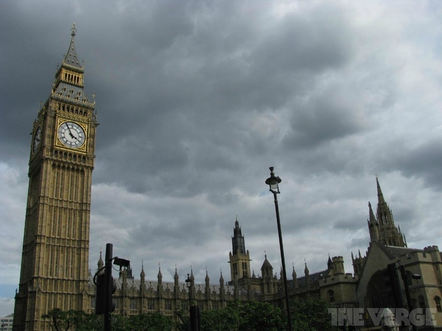 Cloud over British Parliament stock