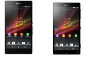 Sony Xperia Z and Xperia ZL