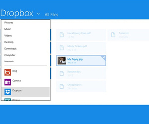 Dropbox Windows 8