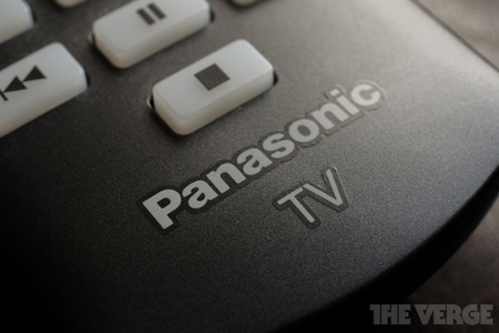Panasonic TV remote (STOCK)