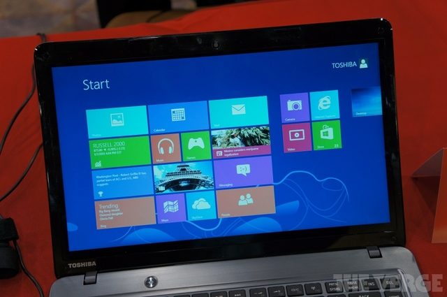 Toshiba Satellite U845t hands-on