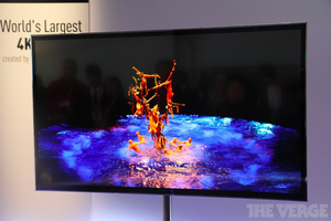 Gallery Photo: Panasonic 4K OLED TV hands-on photos