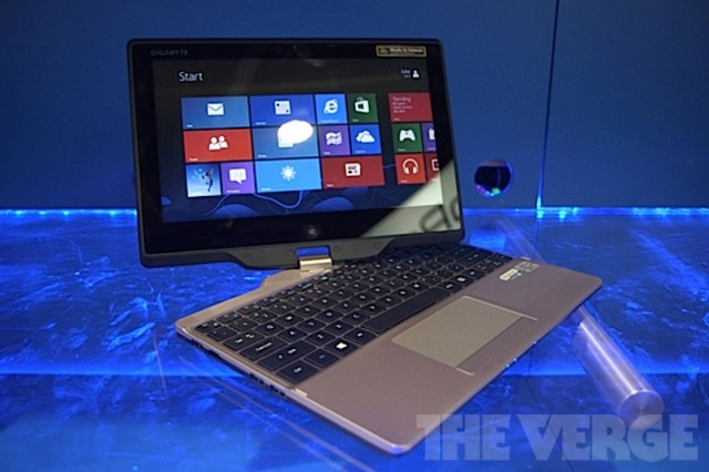 gigabyte convertible ultrabook
