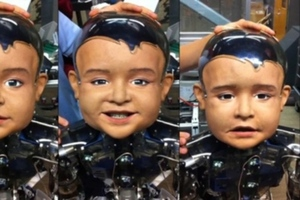 UCSD robot baby