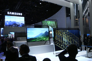Samsung easel TV