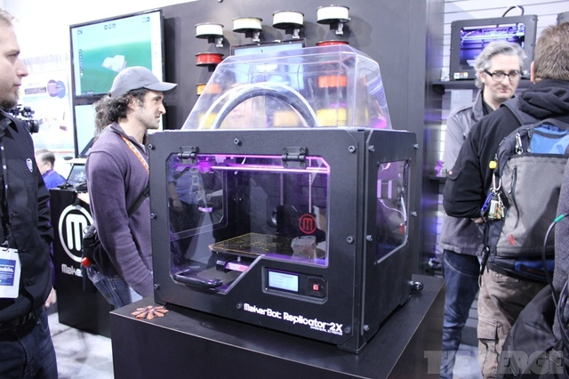Gallery Photo: MakerBot Replicator 2X hands-on photos