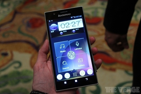 Gallery Photo: Lenovo 5.5-inch IdeaPhone K900 hands-on photos