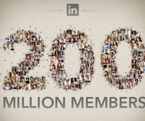 linkedin 200 million