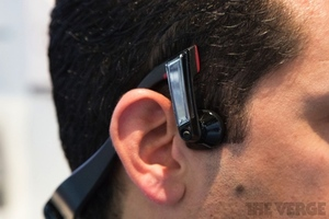 Gallery Photo: Panasonic bone conduction headphones photos