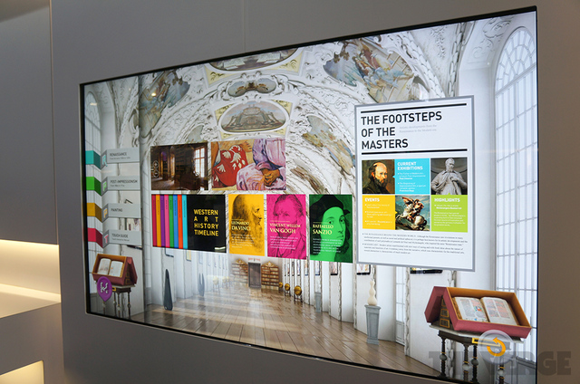 LG UltraHD 4K multitouch display
