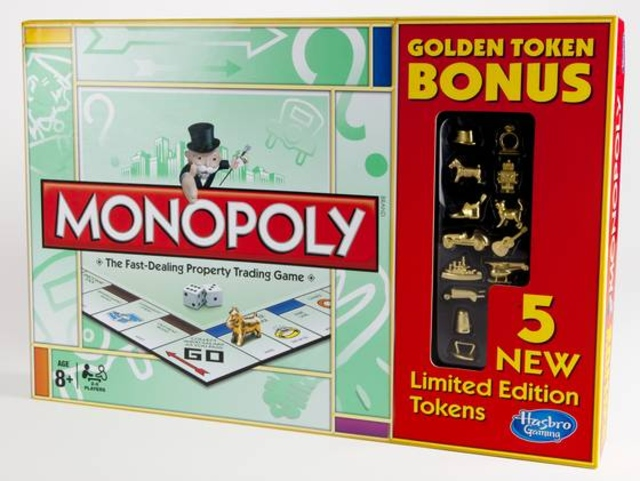 Monopoly Golden Token - HASBRO