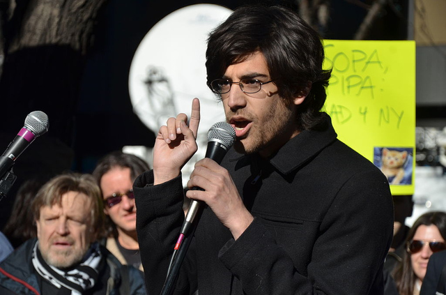 Aaron Swartz - SOPA (Flickr)