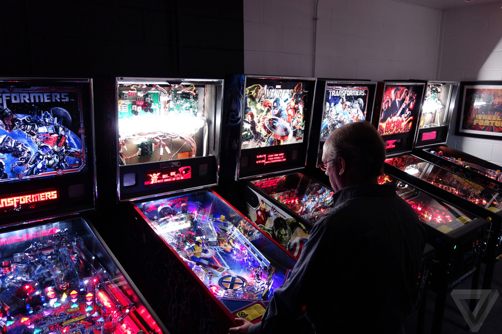 Gallery Photo: Stern Pinball factory tour