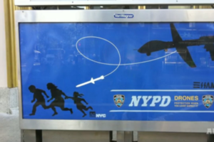 NYPD Drone ad