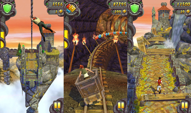 Temple Run 2' coming to Android next week, iOS download available now
