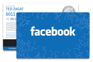 facebook card