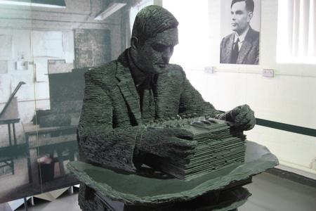 Alan Turing FLICKR