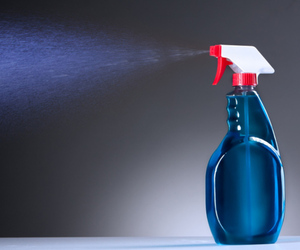 spray bottle SHUTTERSTOCK