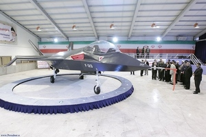 Iran stealth jet
