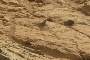 Mars mystery object curiosity rover