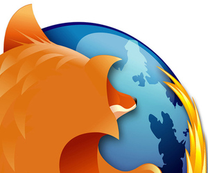 Firefox Logo Closeup