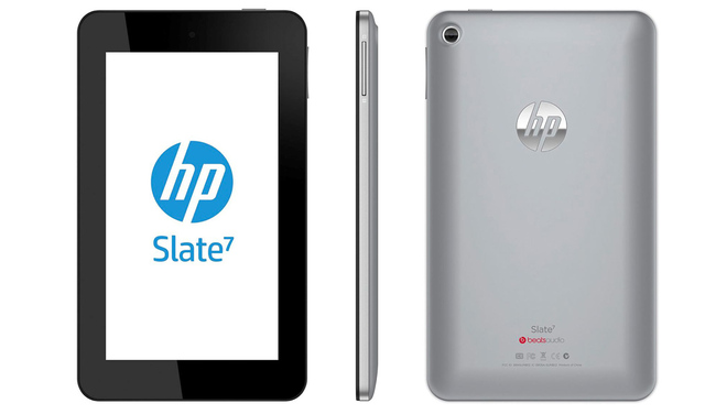 HP Slate 7 tablet stock press 1020