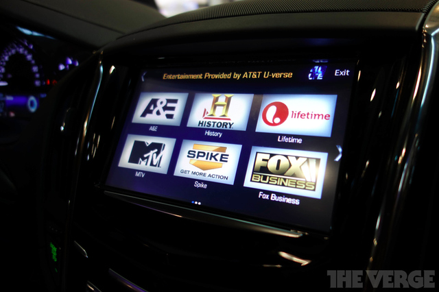 Gallery Photo: GM LTE-enabled car demo