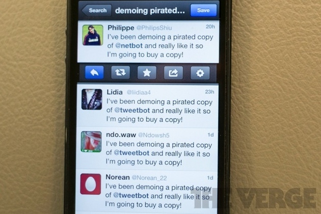 Tweetbot Pirate Shaming