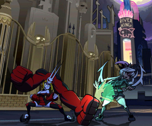 Skullgirls screen