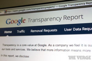 google transparency report 1020