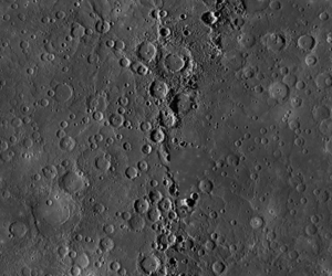 High-res Mercury map (NASA)