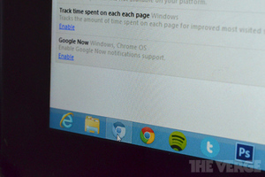 Google now Chrome OS