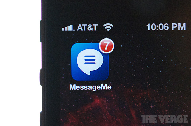 Messageme app icon