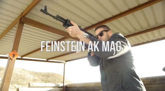 Cody Wilson of Defense Distributed fires a gun