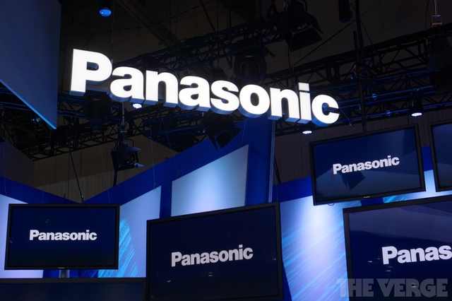 panasonic logo ces stock