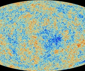 Map of universe light 380,000 years after the Big Bang, captured by the European Space Agency's Planck spacecraft.