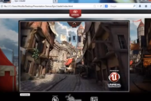 Unreal Engine Mozilla browser demo